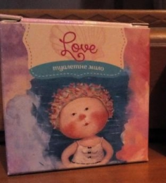 "Туалетное мыло Gapchinska ""Love"""