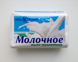 """Мыло туалетное твердое Невская косметика """"Молочное"""""""