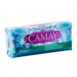 Туалетное мыло твердое Camay Dejour с освежающим ароматом искрящегося винограда