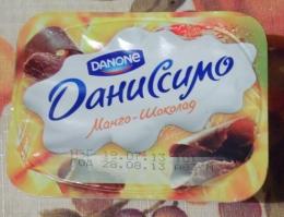 Десерт Danone Даниссимо Манго-шоколад