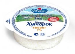 """Творог """"Савушкин хуторок"""", 7%"""