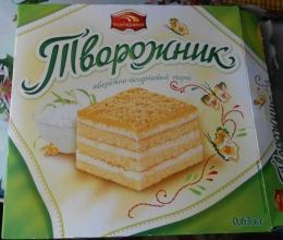 """Торт творожно-йогуртовый """"Творожник"""" Черемушки"""