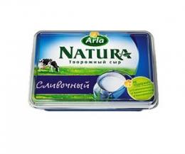 Творожный сливочный сыр Arla Natura