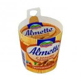 Творожный сыр Hochland Almette с белыми грибами