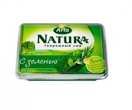 Творожный сыр с зеленью Arla Natura