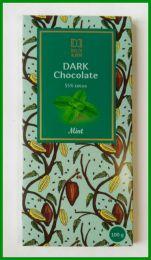 """Тёмный шоколад Dolce albero """"Mint"""" 55% cocoa"""