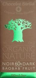 Тёмный шоколад Stella Organic Swiss Dark Chocolate Noir 60%