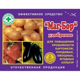 """Удобрение """"Маг-Бор"""" для повышения урожайности картофеля, плодовых, овощных, ягодных культур"""