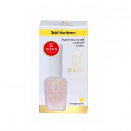 Укрепитель ногтей с золотой пылью IQ Beauty Gold Hardener Коллоидное золото