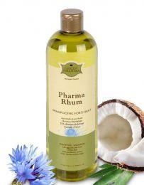 Укрепляющий шампунь Green Pharma с яичным желтком и ромом