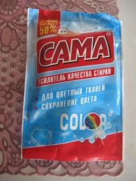 """Усилитель качества стирки """"Cama"""" Color для цветных тканей"""