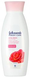 """Успокаивающий лосьон для тела """"Johnson's body care Vita Rich"""" с розовой водой"""