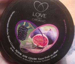 """Увеличивающий объем крем для груди """"Love 2mix Organic"""" инжир и туговая ягода"""