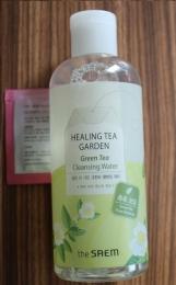 Увлажняющая вода для снятия макияжа с маслом зеленого чая The Saem Healing Tea Garden Green Tea