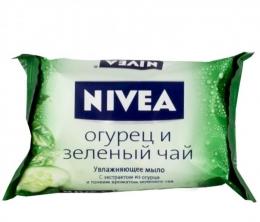 Увлажняющее мыло Nivea огурец и зеленый чай