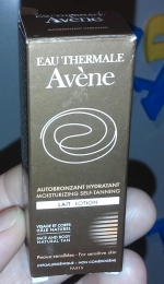 Увлажняющий автобронзант для лица и тела Avene Eau Thermale