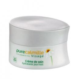 Увлажняющий Дневной/Ночной крем для лица Pure Calmille Yves Rocher