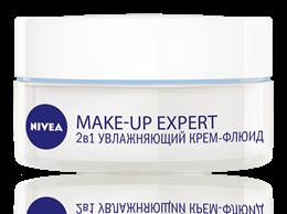 Увлажняющий крем-флюид 2 в 1 Nivea Make-up Expert