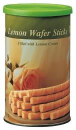Вафельные трубочки Bolero Lemon Wafer Sticks