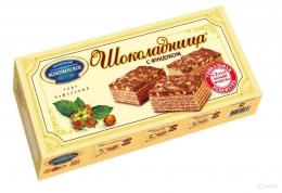 """Вафельный торт Коломенское """"Шоколадница"""" с фундуком"""