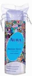 Ватные диски AURA Beauty 100% хлопок