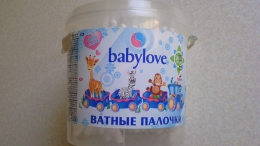 Ватные палочки Babylove