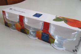 Ваза для мороженого Ice Ville 3 шт. Pasabahce