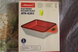 Весы кухонные электронные Atlanta ATH-6201