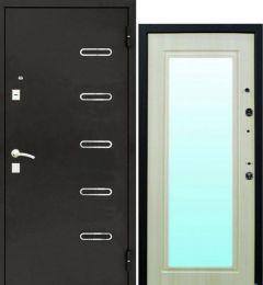 Входная стальная дверь Ергак 888 с зеркалом