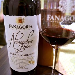 """Вино Fanagoria """"Авторское вино"""" Каберне-Саперави"""