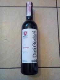 """Вино виноградное натуральное ординарное столовое красное сухое """"Саперави"""" Didi Godori"""