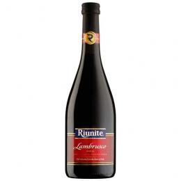 Игристое вино Lambrusco Riunite