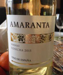 Вино столовое белое сухое Amaranta Verdejo