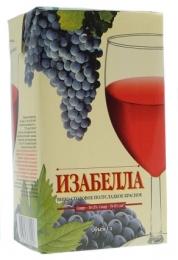 """Вино столовое полусладкое красное """"Изабелла"""", ТД Майкоп"""