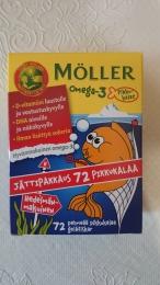 Витамины для детей Moller Omega-3