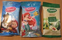 Влажные салфетки Smile