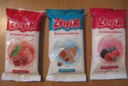 Влажные салфетки Zeffir