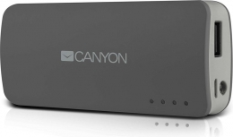 Внешний аккумулятор Canyon CNE-CPB44DG 4400mAh