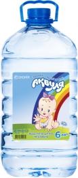 """Вода питьевая детская негазированная """"Аквуля"""""""