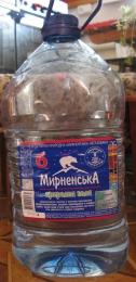 """Вода питьевая природная """"Мирненская"""" негазированная"""