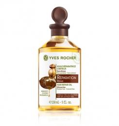 Восстанавливающее масло для волос Yves Rocher с Бабассу, жожоба и макадамией