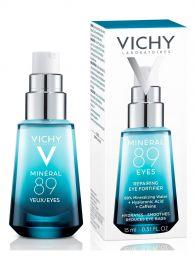 Восстанавливающий и укрепляющий уход для кожи вокруг глаз Vichy Mineral 89