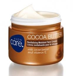 "Восстанавливающий увлажняющий крем для лица Avon Care ""Масло какао"""
