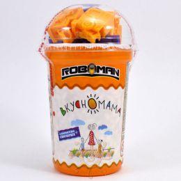 Воздушный рис в карамели Вкусномама Roboman с игрушкой