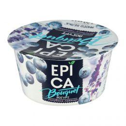 """Высокобелковый йогурт """"Epica Bouquet"""" голубика-лаванда 4,8%"""