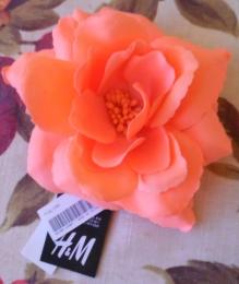 "Заколка-брошь ""Роза"" H&M"