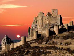 "Замок Лоарре ""Castillo de Loarre"" Испания, Арагон"