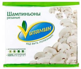 """Замороженные шампиньоны """"Vитамин"""" Мираторг"""