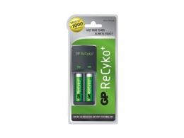 Зарядное устройство + аккумулятор GP Recyko GPAR04GS