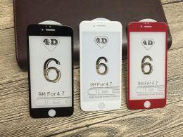 Защитное 4D стекло PLV для Apple iPhone 6